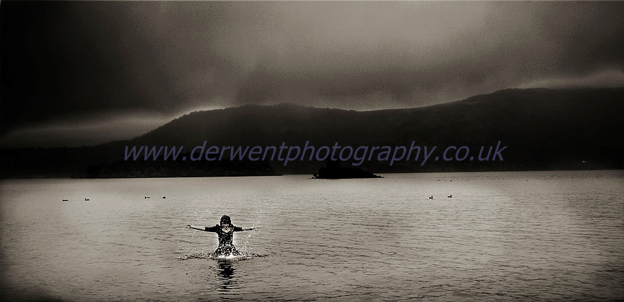 trash the dress photography shoot in derwentwater,keswick by derwent photography of cumbria