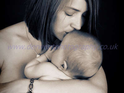 pic of the day; mother and baby portrait.