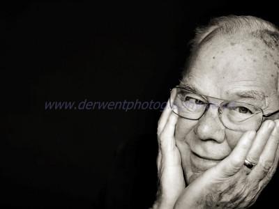 daily photo, portrait of a grandad.