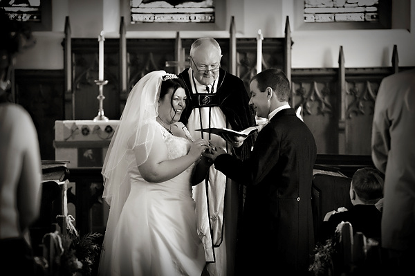 lowick church wedding by derwent photography