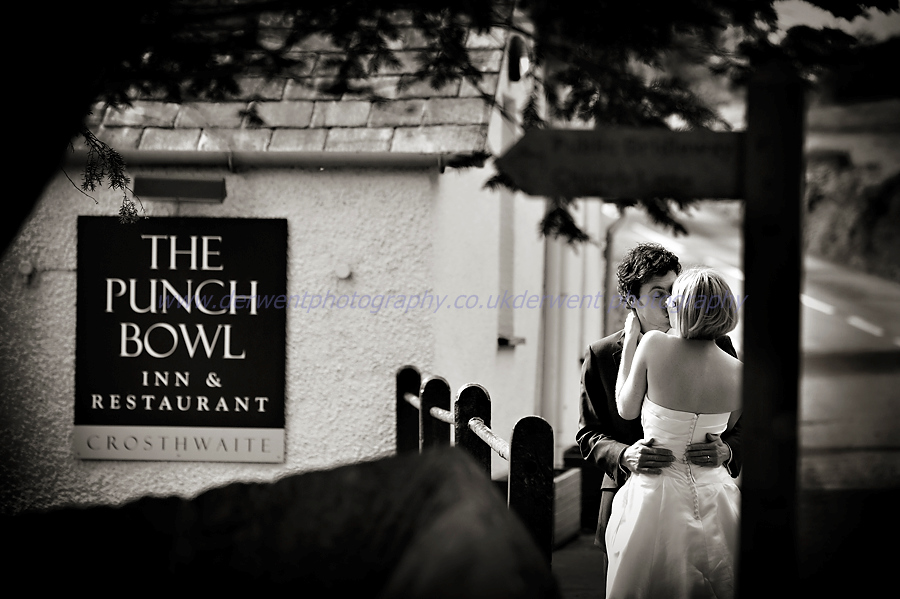 wedding at the punchbowl inn, crosthwaite by derwent photography of cumbria