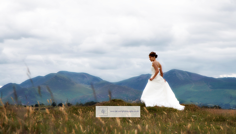 shoot the dress in the lake district by derwent photography of cumbria