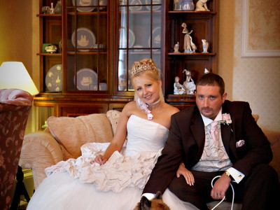 Adele and Anthony's wedding at The Overwater Hall Hotel