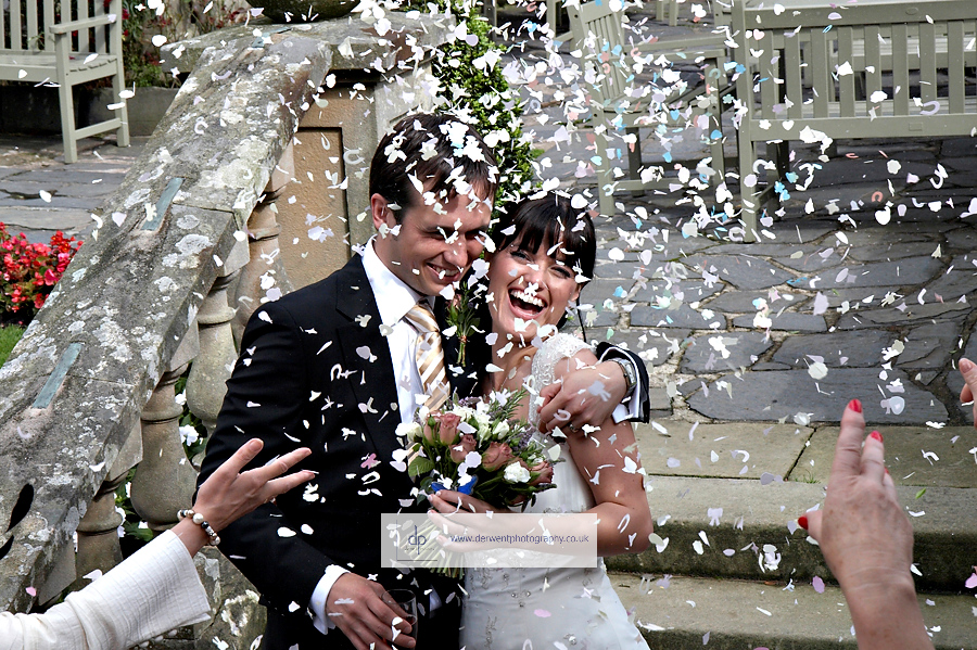 wedding photograph at langdale chase windermere, by derwent photography of cumbria