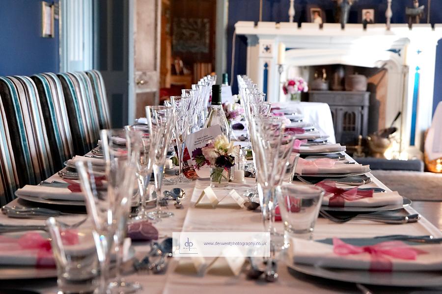 augill castle wedding breakfast