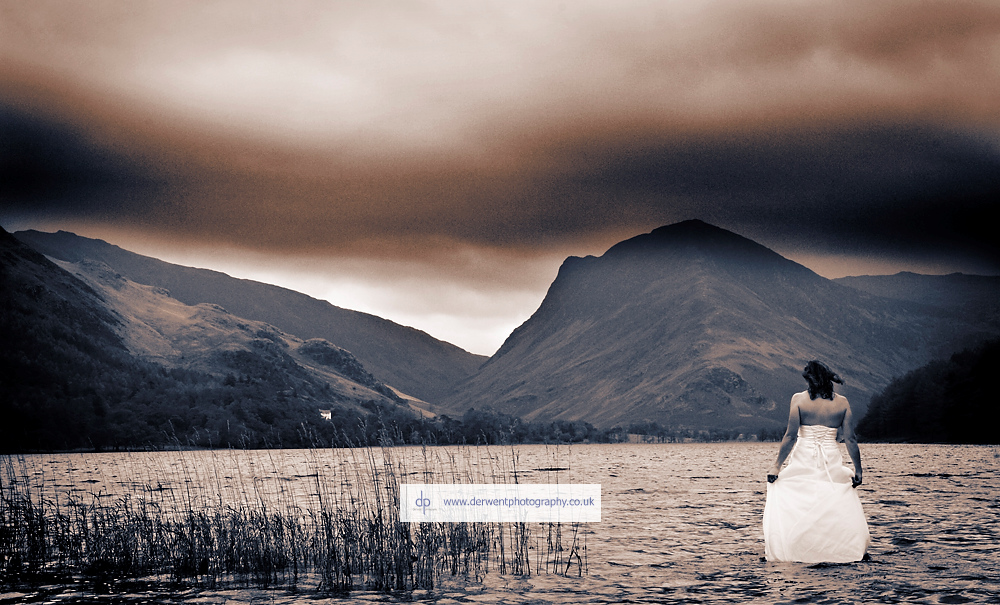 trash the dress photography in the lake district, cumbria