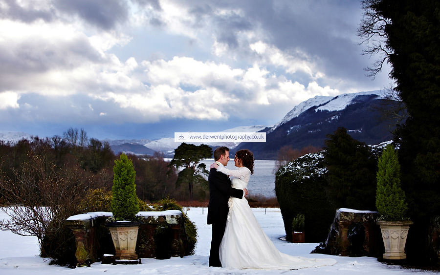 wedding photography at armathwaite hall, the lake district, cumbria