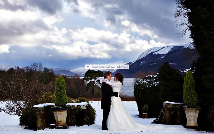 wedding photography at armathwaite hall, the lake district, cumbria