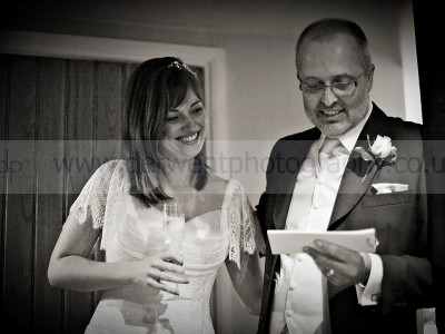 Louise and Daniels wedding at The Punchbowl Inn