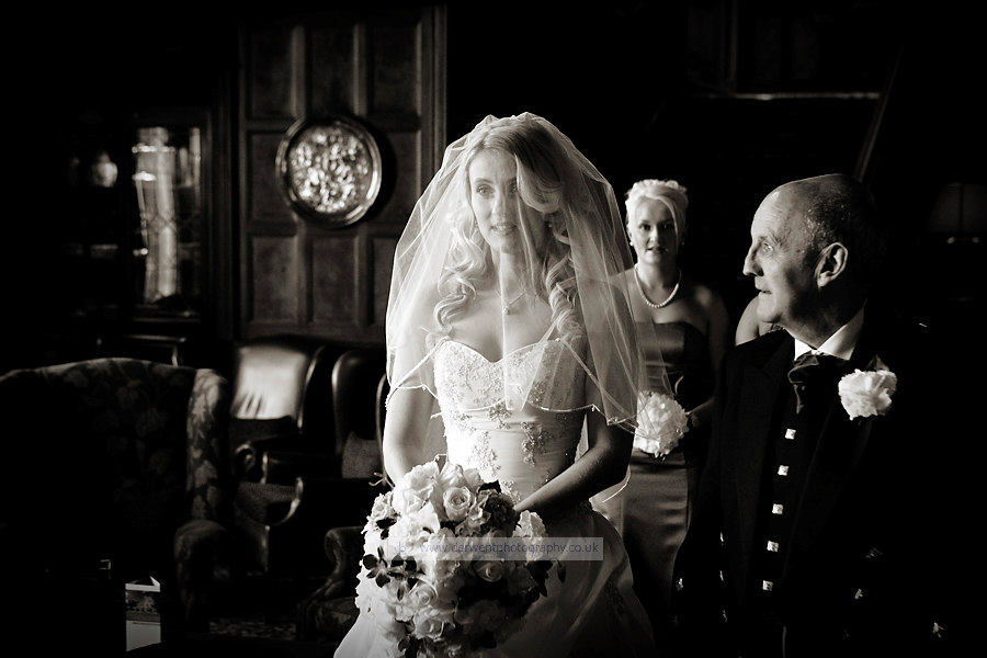 wedding photographer at armathwaite hall hotel the lake district cumbria