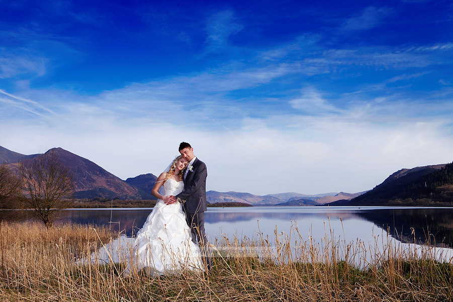 wedding photography at armathwaite hall hotel the lake district cumbria