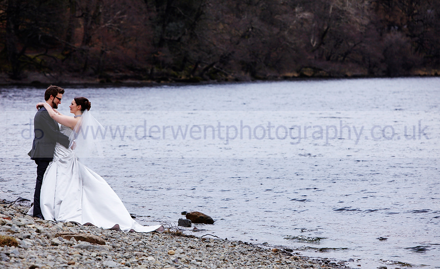 wedding photography inn on the lake ullswater for jenny and david