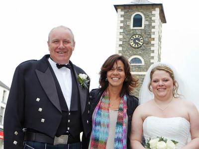 julia bradbury in lake district wedding photography
