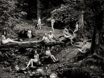 lake district calendar girls art nude photography