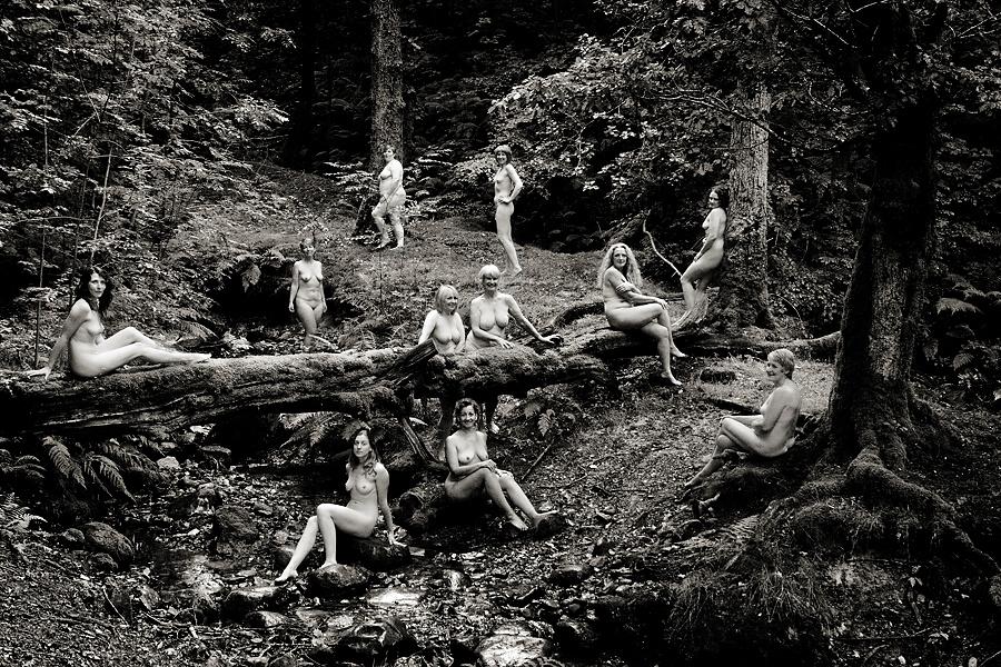 Lake District calendar girls
