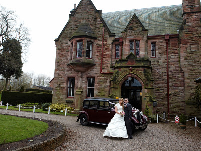 Hannah and Jake's wedding photography at Tebay in Cumbria