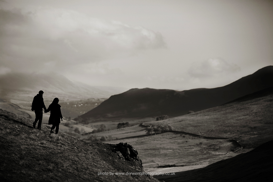 lake district couple portraits