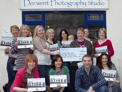 Over £15,000 raised for MS by our art nude calendar.