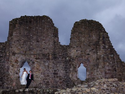 Jag and Andrew's wedding photography at Augill Castle