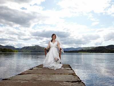 ullswater wedding photography at the sharrow bay hotel