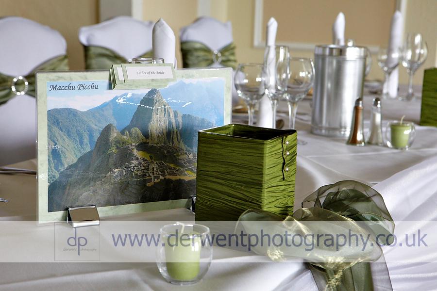 wedding colour themes langdale chase wedding photography