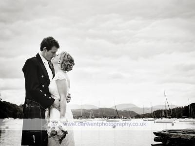 Humanist outdoor marquee wedding by Windermere - Katie & Sandy
