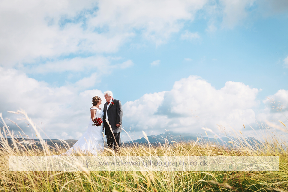 overwater hall wedding venue in lake district cumbria