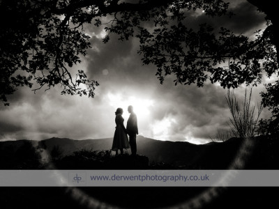 Lodore Falls wedding of Hayley & Alex
