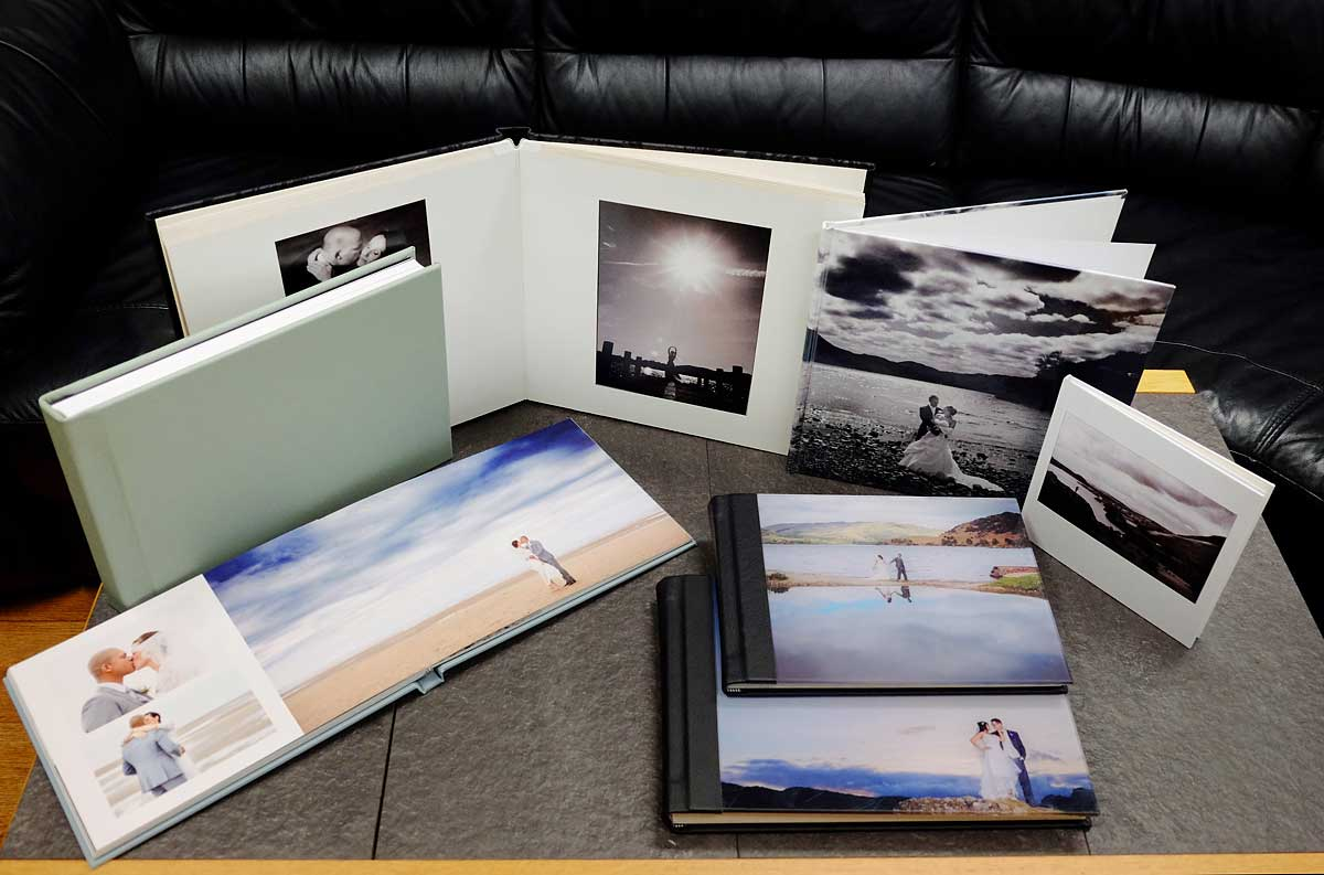 wedding albums lake district photography