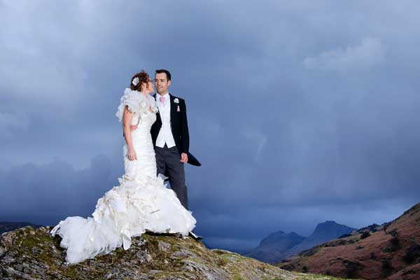 lake district wedding langdale valley