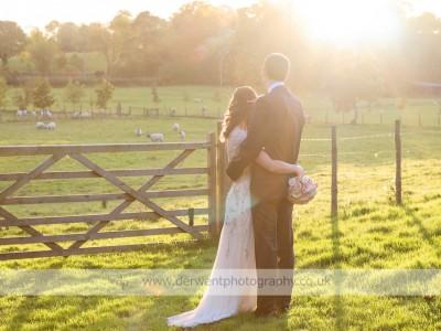 Augill Castle wedding of Stephanie & Silas