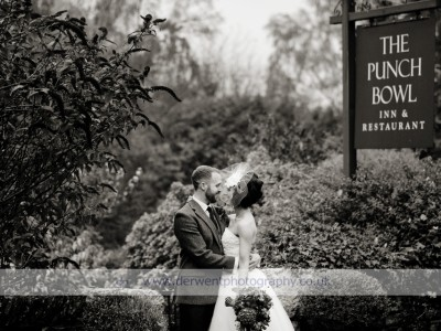 Punchbowl Inn wedding of Rebecca & Paul