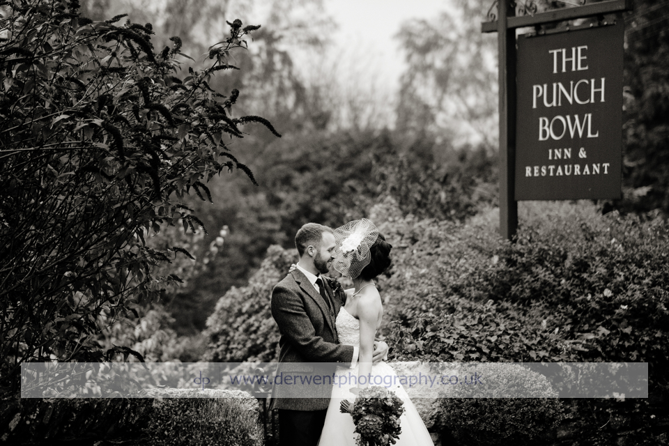 Punchbowl Inn wedding of Rebecca & Paul