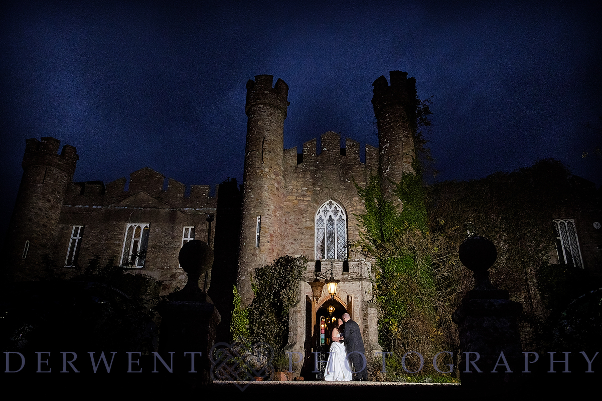Zarah and Andrew's Winter Wedding at Augill Castle